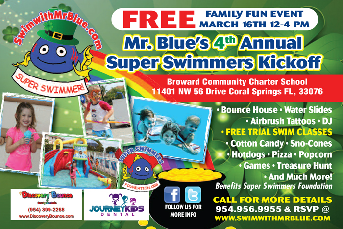 Super Swimmer KickOff Event